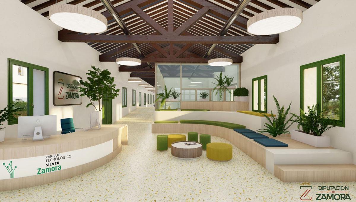 Proyecto de Diseño Interior para el Nuevo Parque Tecnológico Silver de la Diputación de Zamora